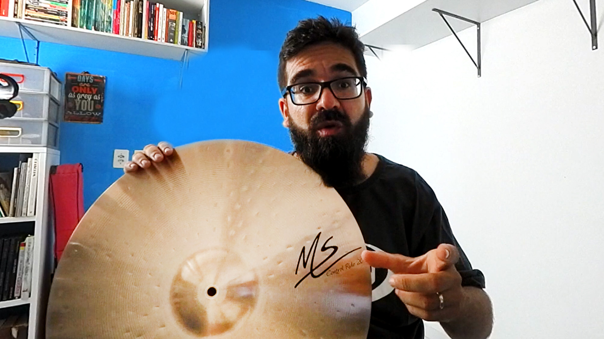 Review Série MS Orion Cymbals