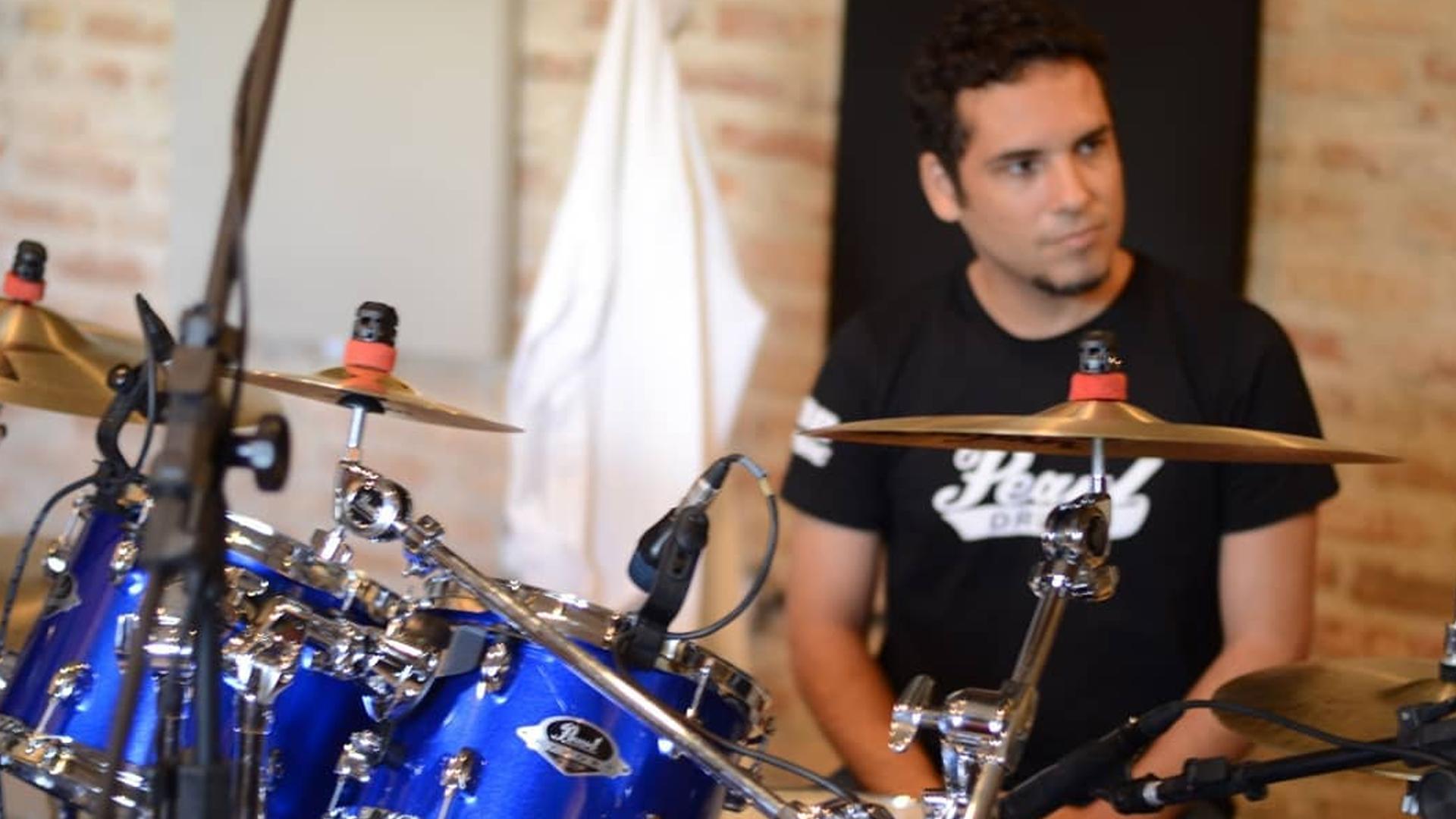 coluna vertebral do baterista