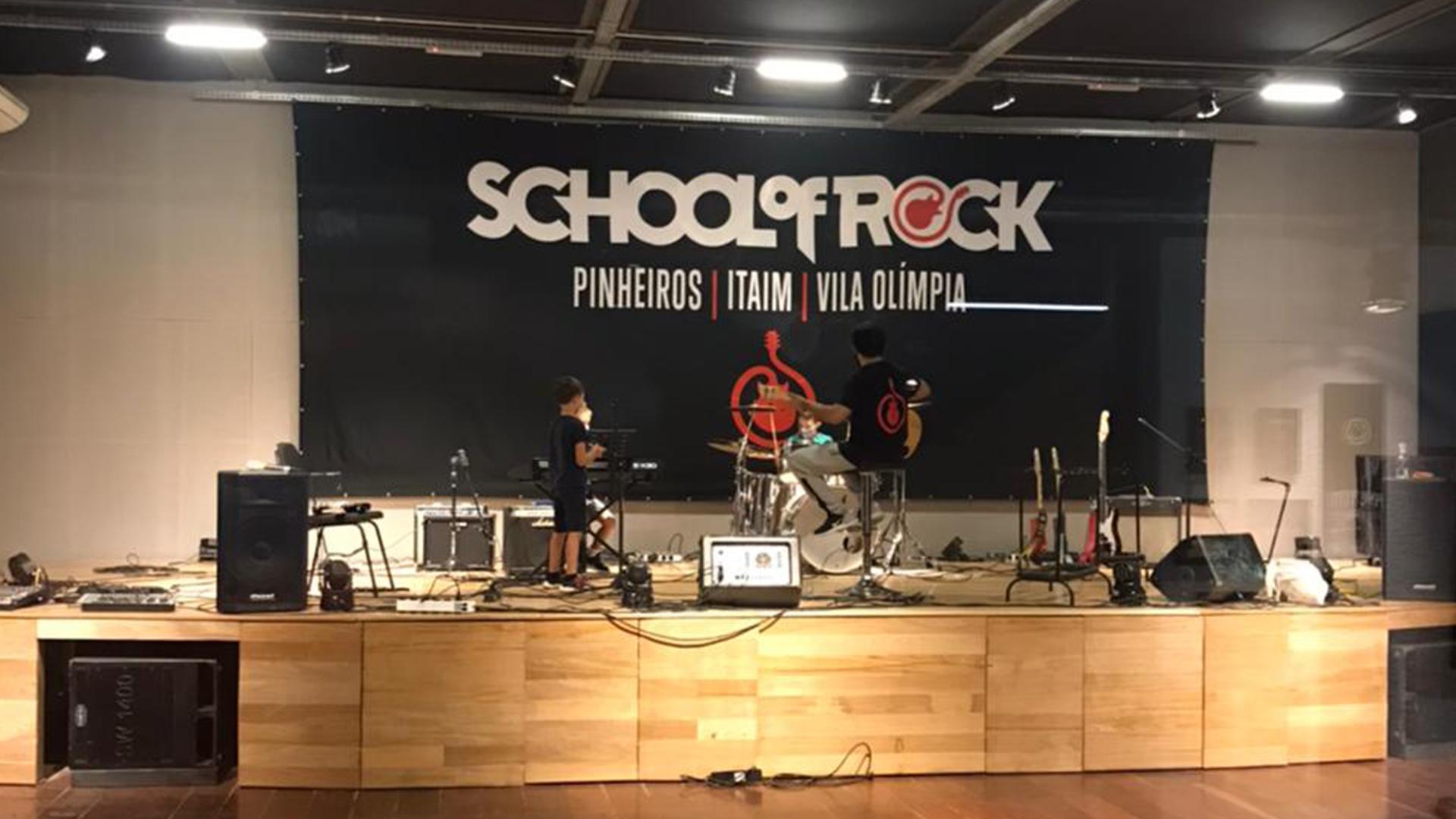 School of Rock Pinheiros Vila Madalena